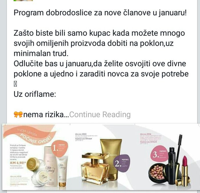 Potrebnisaradnici  Sada je pravo vreme da postanete članOriflame-a!! - Novi Sad