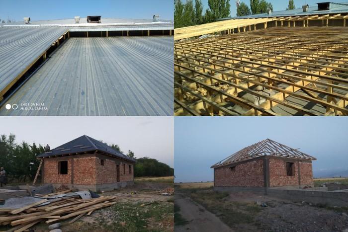 Крыша жабабыз стяжка кафель мастер бригада . Photo 1