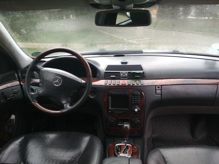 Bakı şəhərində Mercedes-Benz S 320 2002