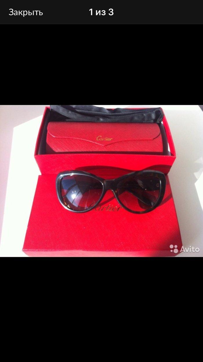 Очки новые Cartier в коробке чехол доставка по Москве и почтой по всем. Photo 2