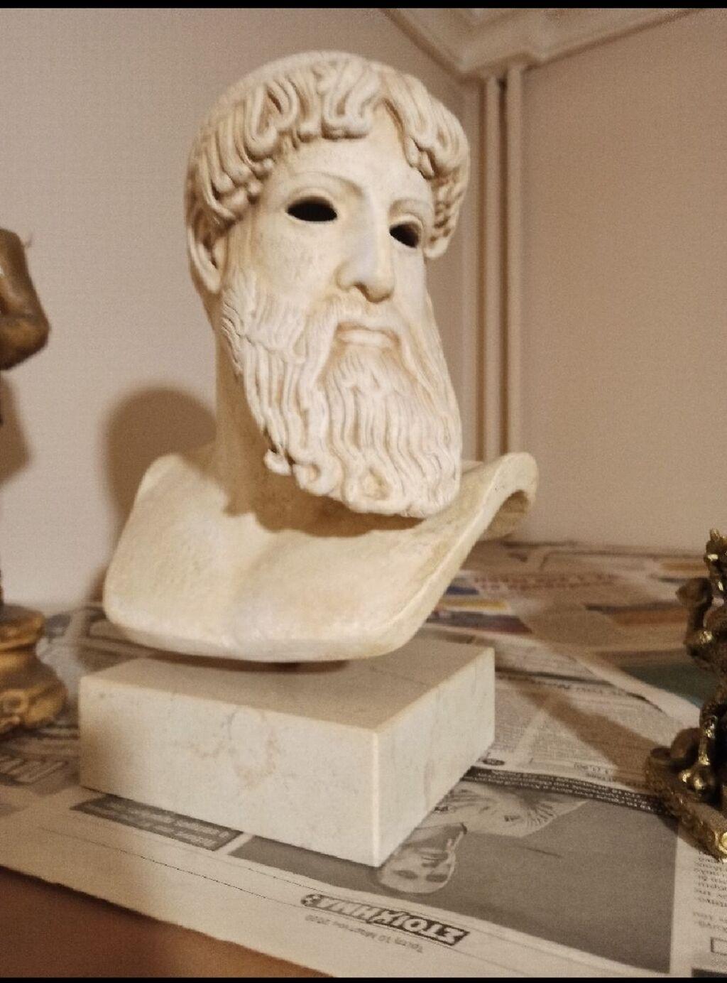 Φιγούρες - Αθήνα: Προτομή Ποσειδώνα με μαρμάρινη βάση