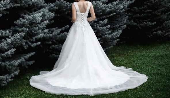 78006cfae0fcda0 Продаю шикарное свадебное платье., цена: 50000 KGS в категории ...