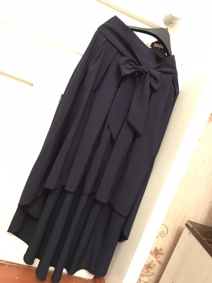 Продам обе школьная форма одевалась 1 раз размер юбка 44 кофта 52 . Photo 1