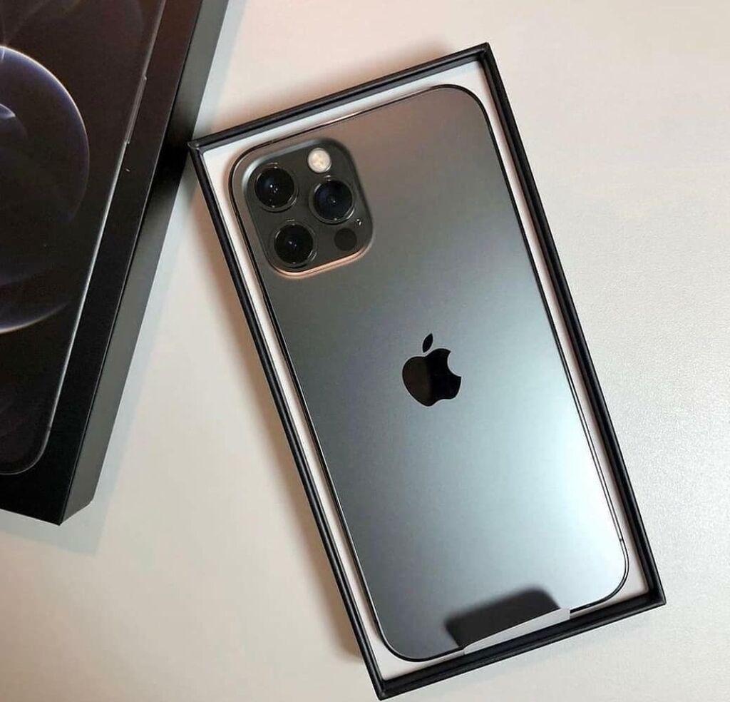 Νέα iPhone 12 Pro Max 256 GB Μαύρος: Νέα iPhone 12 Pro Max 256 GB Μαύρος