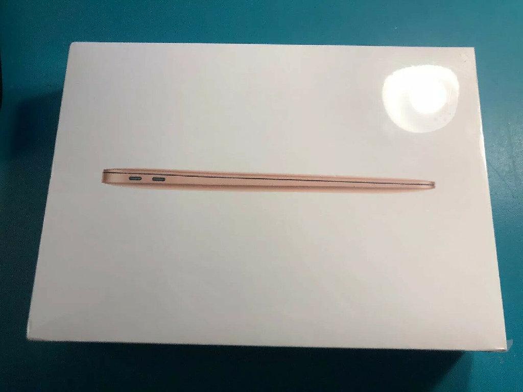 Νέο 2019 Apple Macbook Air 13,3 13 ιντσών GOLD 16GB 1TB SEALED με το AppleCare