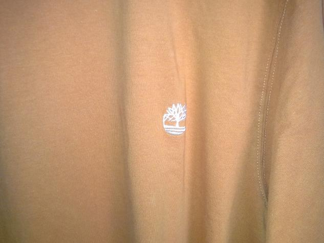 Aνδρικη μπλουζα timberland χρωματος πορτοκαλι και μεγεθους L-XL.. Photo 2