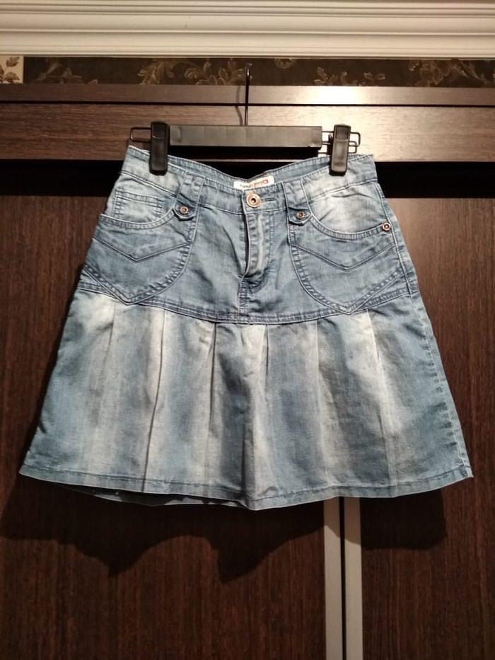 a8658772cf0 Короткая джинсовая юбка