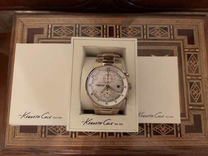 Bakı şəhərində Kişi Gümüşü Klassik Qol saatları Kenneth Cole