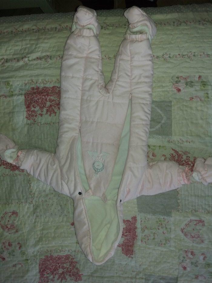 Skafander za bebe od 0-6 meseci,kao nov obucen dva,tri puta. Photo 4
