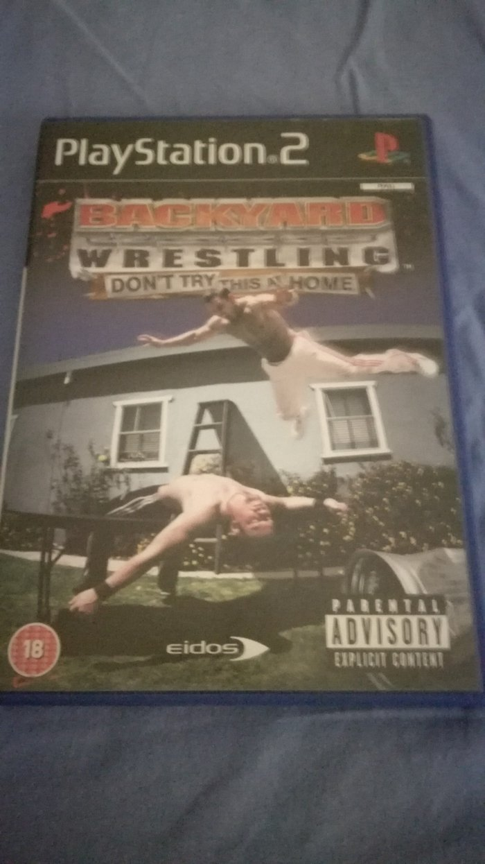 Backyard Wrestling: Don't Try This At Home PS2 PAL Version σε Αιγάλεω