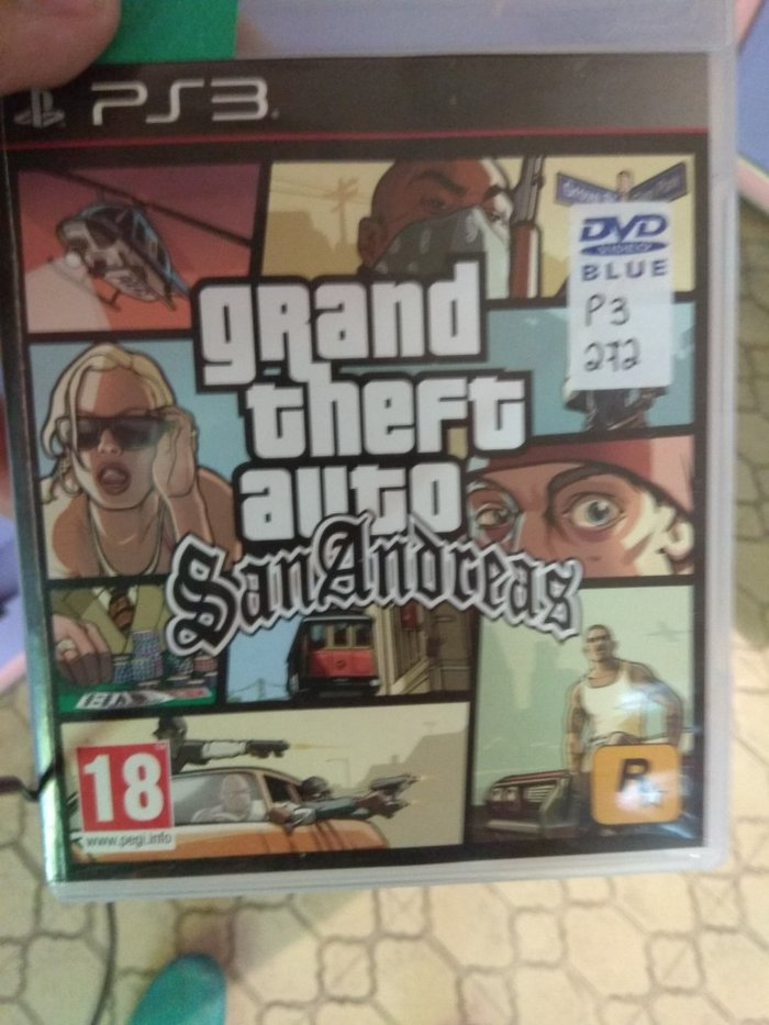 Grand Theft Auto San Andreas PS3 καινούργιο σε Αθήνα