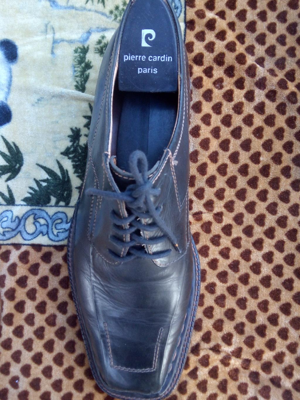 Туфли кожаные б/у , стелька ортопедическая, подошва кожаная, размер 41 подойдут на 42 размер