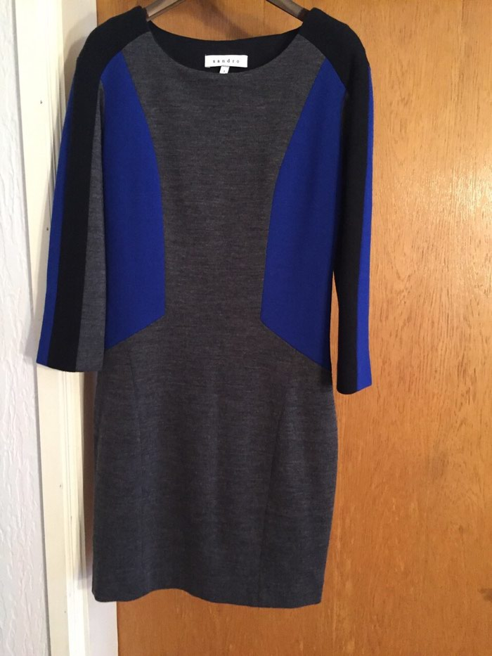 Original Sandro haljina moderna, kupljena u Londonu. Photo 0