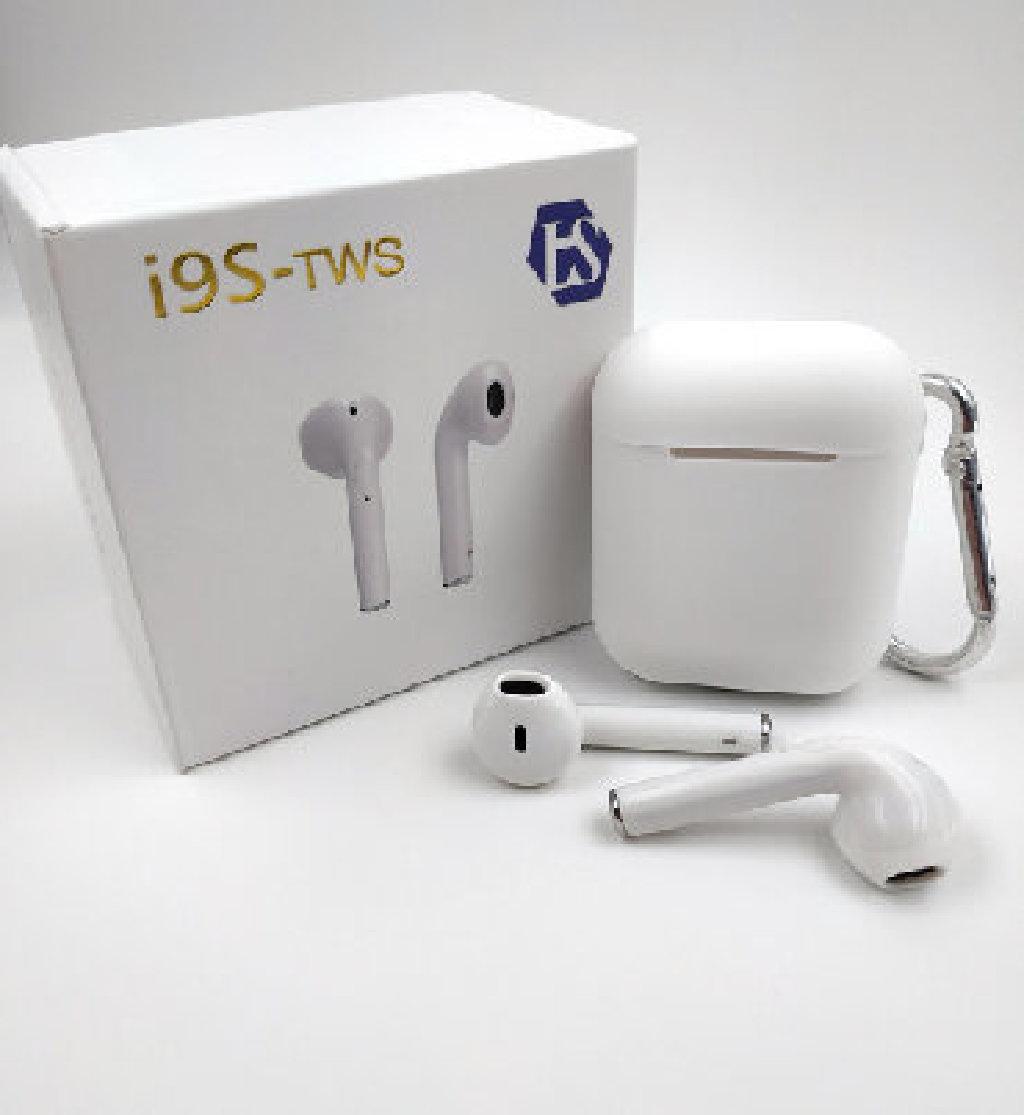Беспроводные Bluetooth наушники LS i9S TWS V4.2 с футляром и чехлом