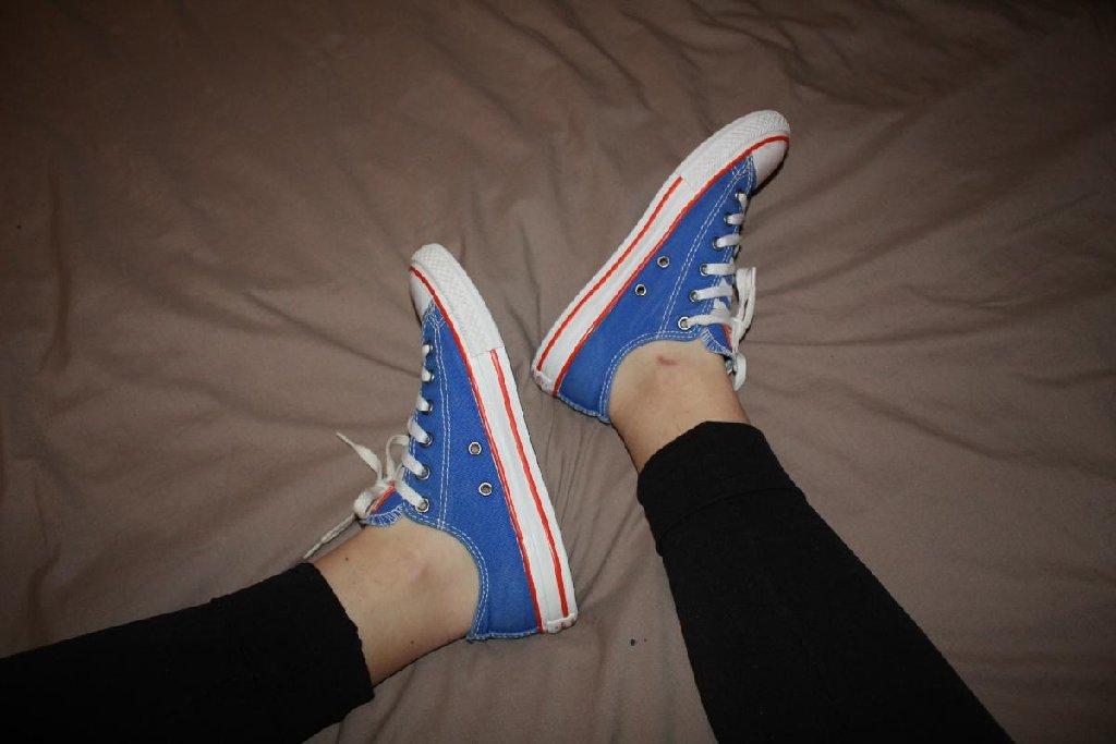 Μπλε αυθεντικά Converse All Star