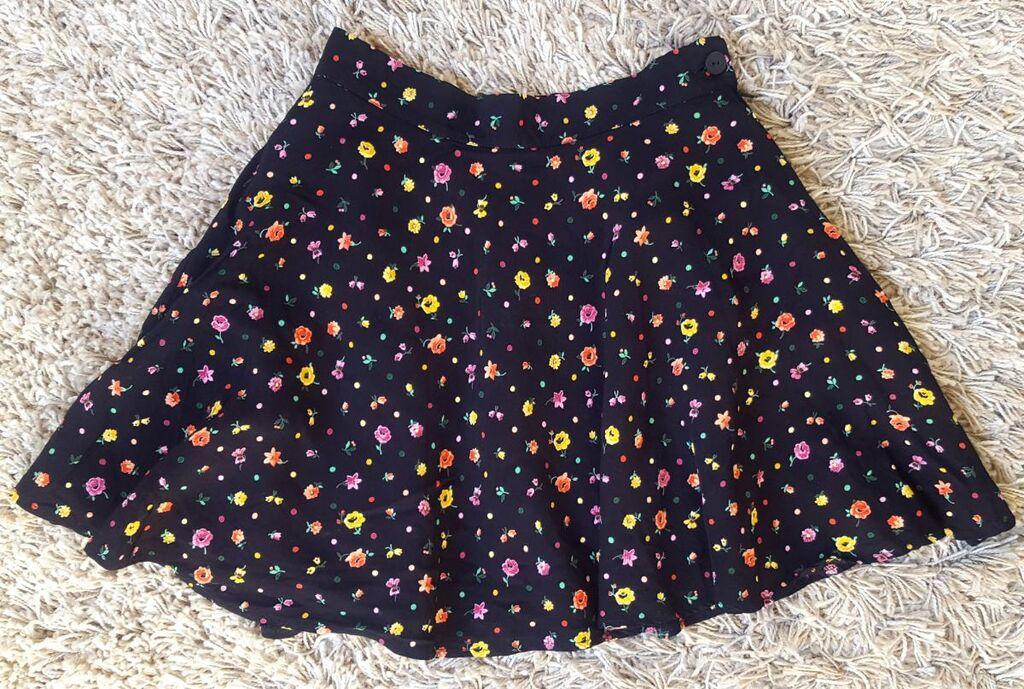 Mini leprsava suknjica