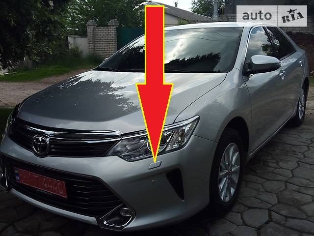Крышка омывателя фар для Toyota Camry