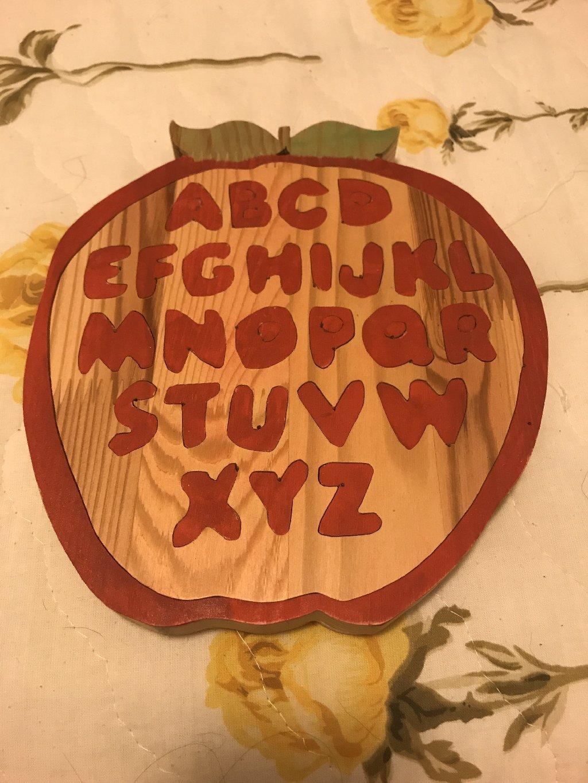 Παιδικό ξύλινο παζλ χειροποίητο