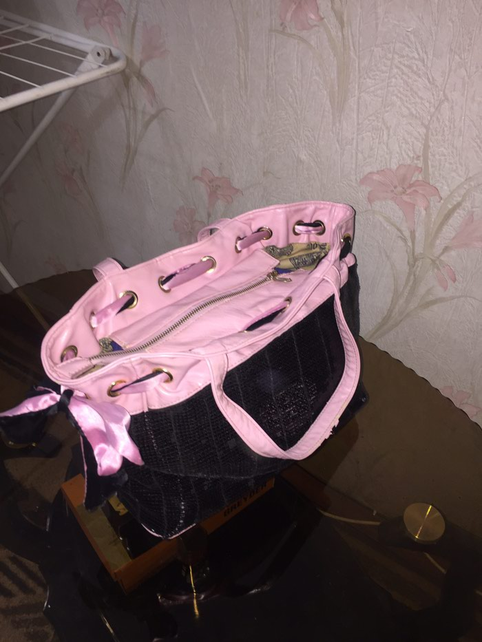0989b1614a99 Сумка Juicy Couture с пайетками 350с за 350 KGS в Бишкеке: Сумки на ...