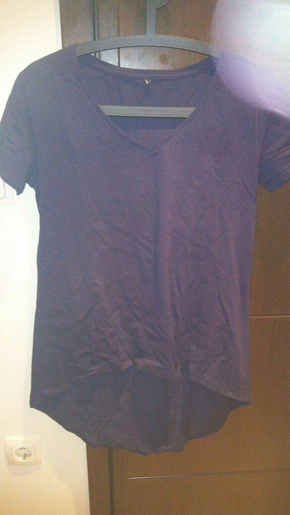 Μπλουζα ασυμετρη large φορεμενη μια φορα. σε μπλε χρωμα. αποστολη με π. Photo 0