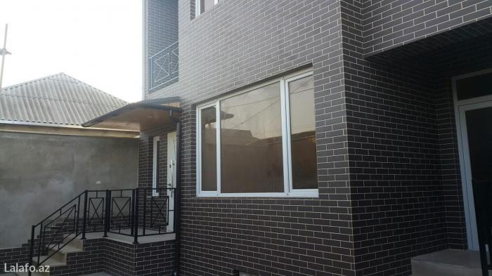 Bakı şəhərində дом новый пастроен на двух сотых есть купча на дом купча на землю,есть