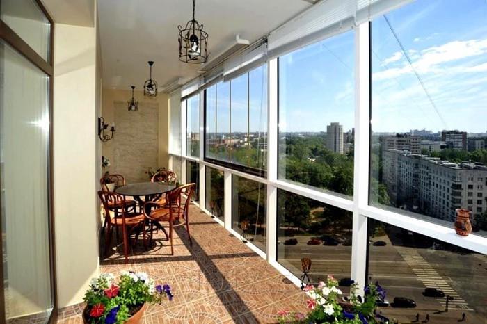 Обшивка балкона панелями – Это недорого!. Photo 1