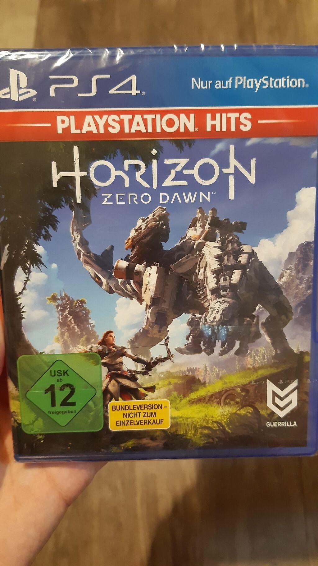 HORIZON ZERO DAWN Igrica za PS4 nova neotpakovana u celofanu   Oglas postavljen 17 Jul 2021 01:48:59: HORIZON ZERO DAWN Igrica za PS4 nova neotpakovana u celofanu