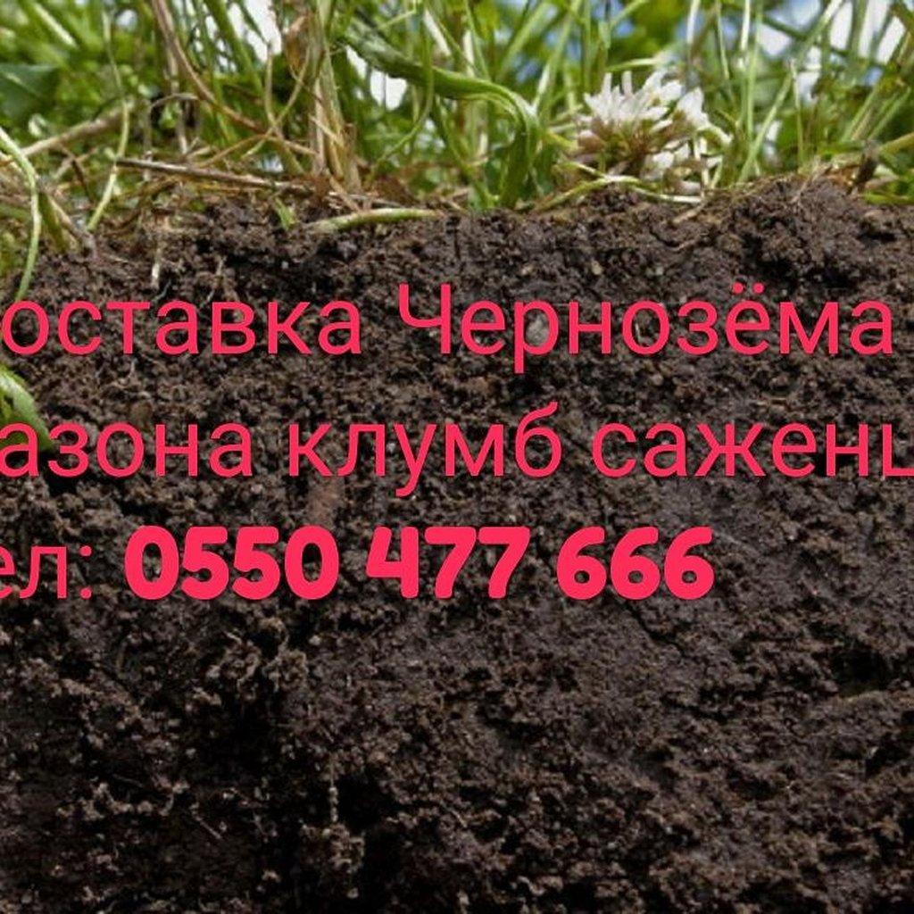 Другие сыпучие материалы - Бишкек: Чернозем с доставкой по городу Бишкек
