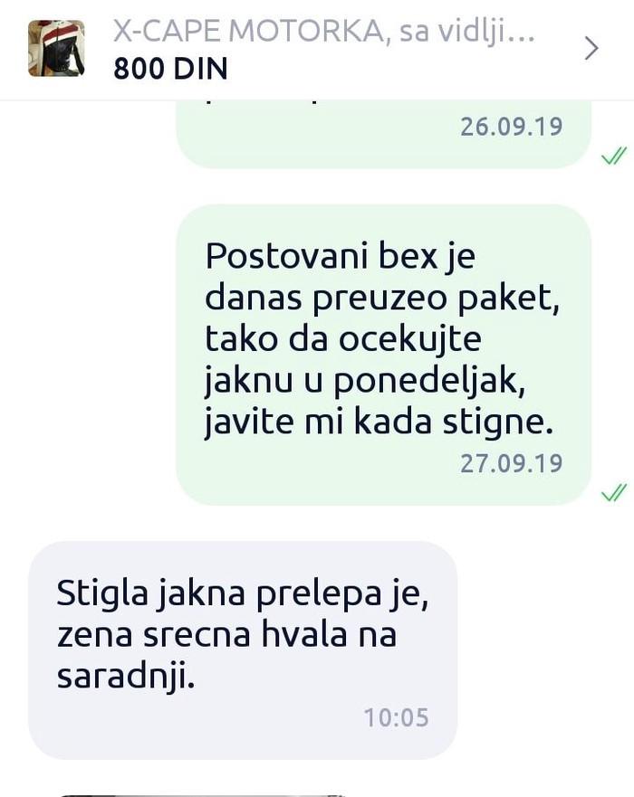 JOS JEDAN USPEH!!! HVALA OSOBAMA  KOJA STICU POVERENJE U MENE!!!  - Beograd
