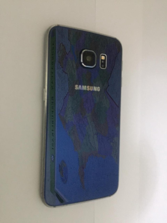 Б/у Samsung Galaxy S6 Edge Синий. Photo 3