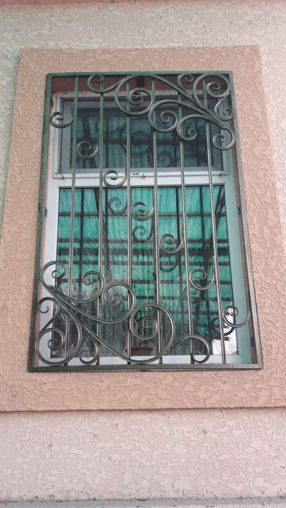 Сварочные работы, решетки на окна под ключ, полимерное покрытие в Бишкек