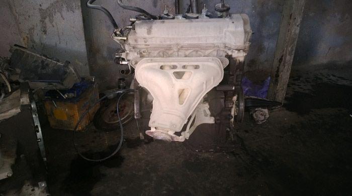 Двигатель Тойота королла (ист) 2001г. 1.5 vvti автомат. Photo 2