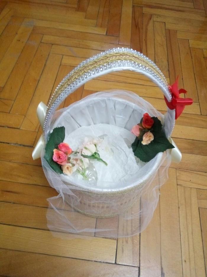 Корзина для подарков (хонча) в отличном состоянии. Photo 1