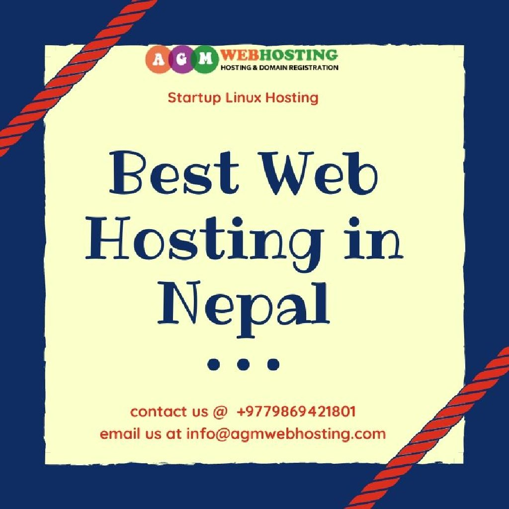 Can you imagine the Startup Linux Hosting Plan starting at NPR699/Year? It is now made possible by AGM Web Hosting with Plans that suits best according to your different requirements