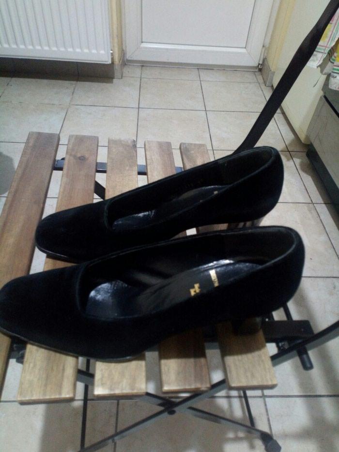 Cipele Bruno Magli br 40, ocuvane. Stikla 7cm.. Photo 1