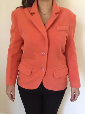 Σακακι-παλτο άριστη ποιοτητα σε εξαιρετικα καλή κατασταση, αγοραστηκε 90€ μέγεθος large