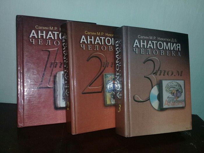 Учебник анатомии под редакцией привеса
