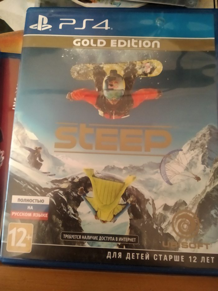 Steep gold edition ps4. Photo 0