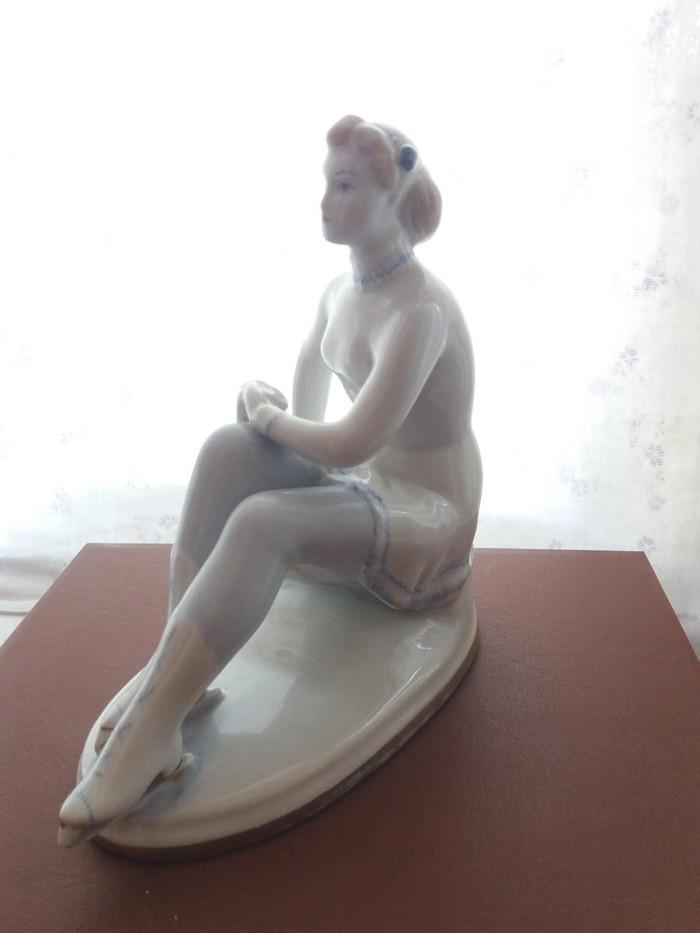 Фарфоровая статуэтка ЛФЗ. Гимнастка. Photo 1