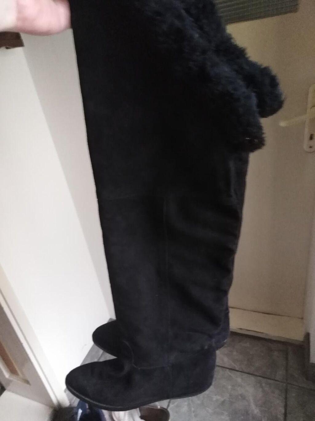 Prelepe antilop čizme, prava koža, postavljene, samo probane
