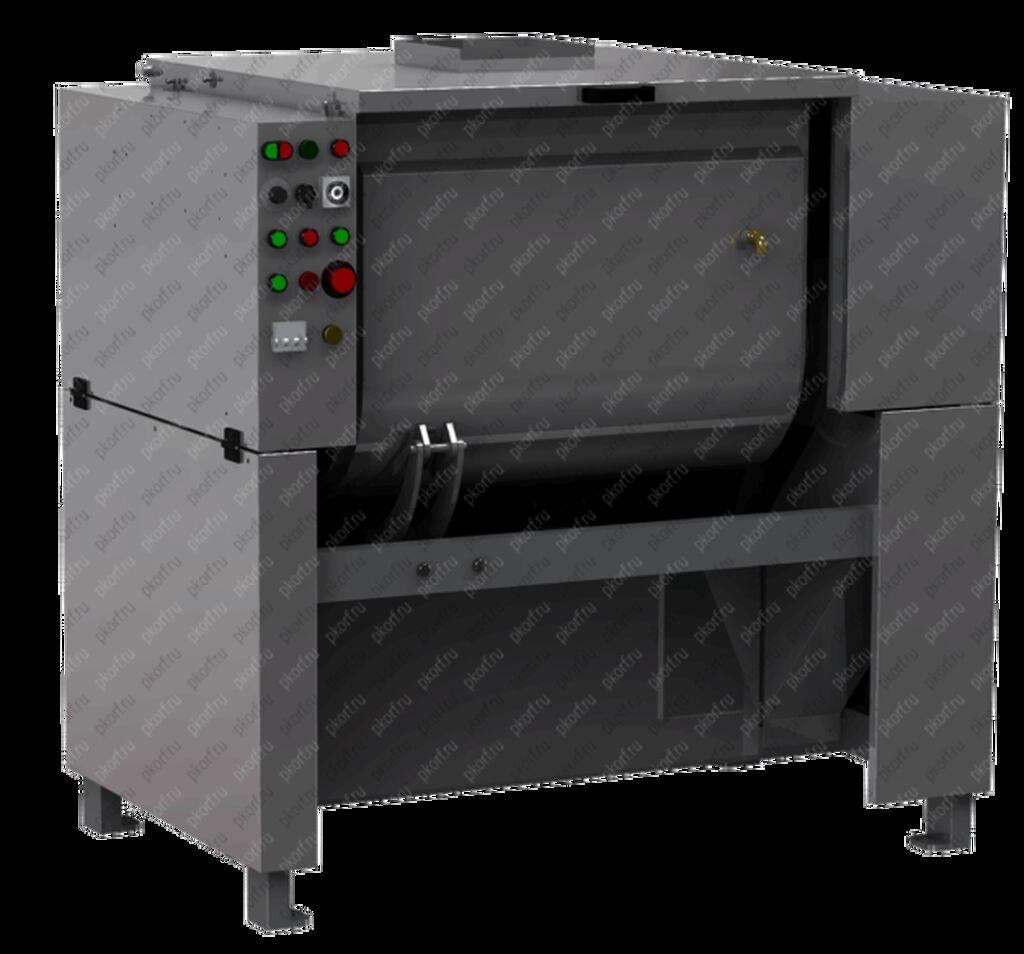 Машина применяется на кондитерских и хлебобулочных предприятиях для замешивания различных видов теста высокой вязкости: