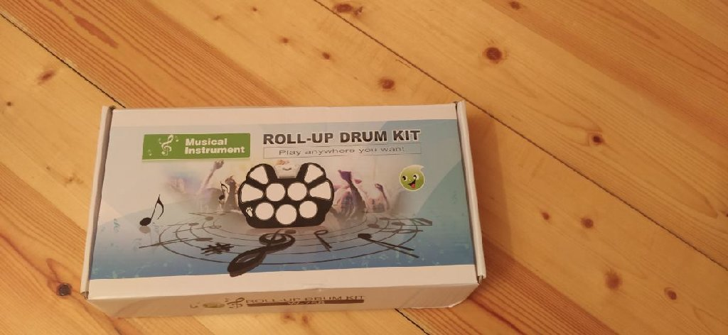 Roll up drump kit w-758 ideal vəziyyətdədir