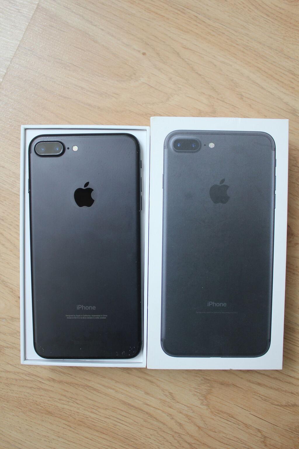 IPhone 7 Plus | 128 ГБ | Черный | Б/У: IPhone 7 Plus | 128 ГБ | Черный | Б/У