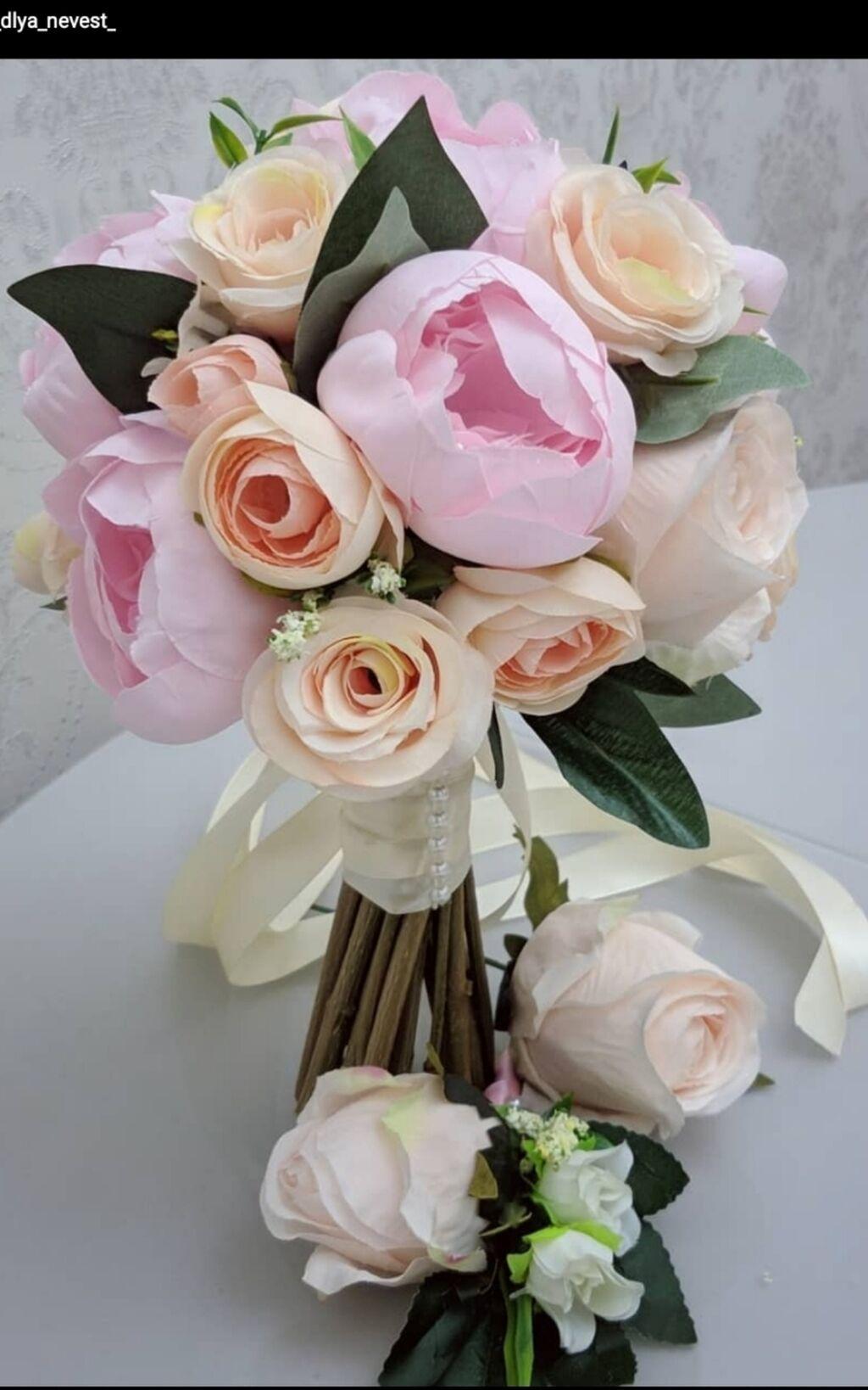 Принимаем заказы на изготовление любых свадебных букетов из: Принимаем заказы на изготовление любых свадебных букетов из
