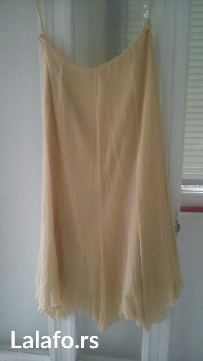 suknja, br.44 obim 85cm,duzina 86cm,na je u gloh,dole ima spicevi bez  - Nis