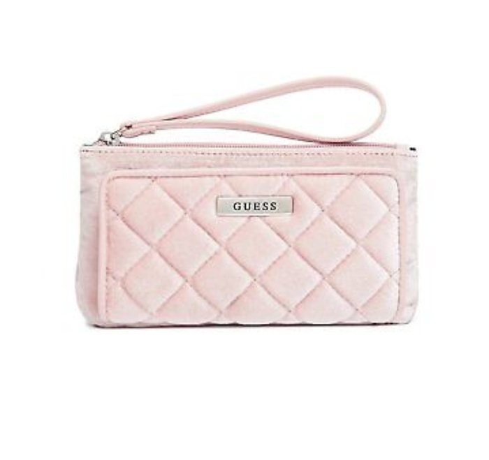 Guess velvet pink wallet. Αυθεντικο με το σε Αθήνα