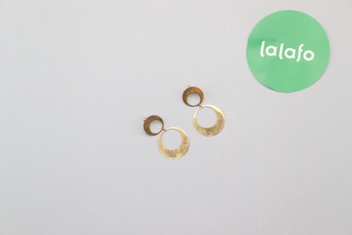 Сережки кільця Lilou   Довжина: 6 см  Стан гарний, є сліди носіння по цене: 39 UAH: Сережки кільця Lilou   Довжина: 6 см  Стан гарний, є сліди носіння