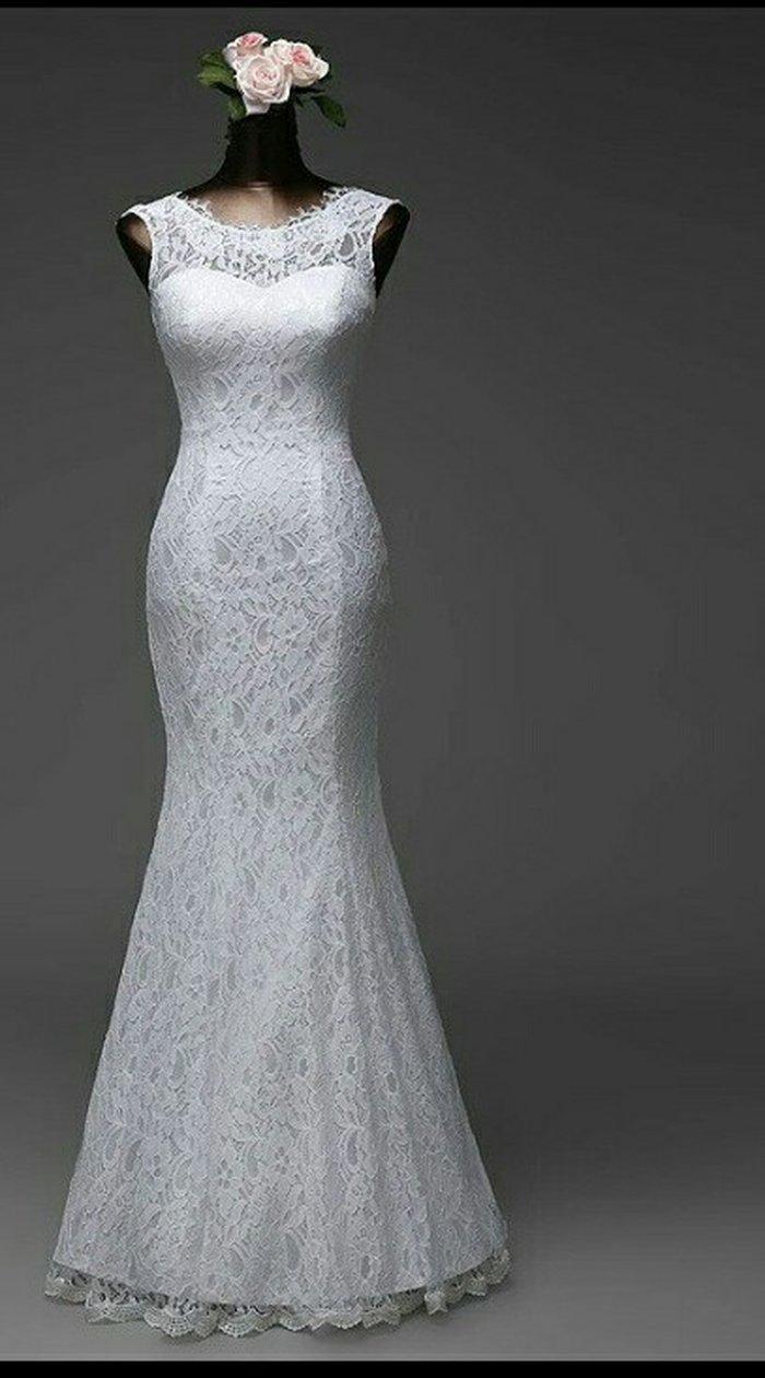 Gəncə şəhərində Продается Свадебное платье со съемным шлейфом. Заказывайте заранее. Ра