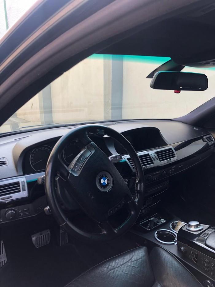 BMW 745 2002. Photo 8