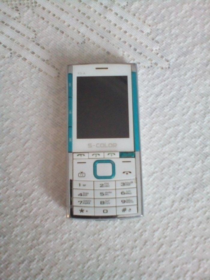 Bakı şəhərində Nokia s-color x3-a. Telefon kitayindir. 4 nomre ve 2 yaddash karti yer